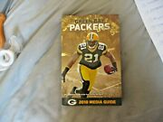 2010 Green Bay Packers Media Guide Yearbook 2011 Super Bowl Champ Aaron Rodgers
