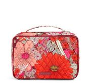 Nwt Vera Bradley Large Blush And Brush Makeup Case In Bohemian Blooms 15690 675 Co