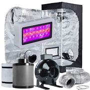 Topolite Grow Tent Room Complete Kit Hydroponic Growing System Led 300w/ 600w/ +