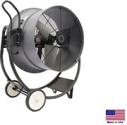 Drum Fan Commercial - Dolly Mounted - 30 - 1 Hp - 230v - 1 Phase - 10600 Cfm