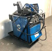 Miller Deltaweld 300 Mig Package With Feeder, Tweco Gun, And Ground—ships Free