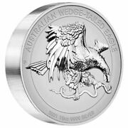 Australian Wedge-tailed Eagle 2021 10oz Silver Reverse Proof Uhr 500 Made