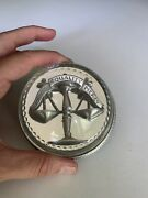 Lawyer Meadow Mountain Designs Pewter Paperweight 2002 Charles Hill Justice E7