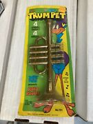 Road Runner Jr Trumpet Rack Toy 1970and039s Mint On Card Proll Toys Warner Brothers
