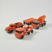 Matchbox 26 Foden Cement Mixer And 15 Rotinoff Super Atlantic Tractor + Trailer