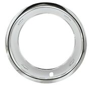 15x8 Chevy Gm Bow Tie Stainless Steel Trim Rings Beauty Rings Set Of 4 New