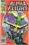 Alpha Flight 5 Comic Lot 4,5-puck,7-aurora,8,18-new Role For Heather,byrne-a
