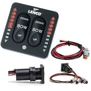 Lenco Led Indicator Integrated Tactile Switch Kit W/pigtail F/single Actuator...