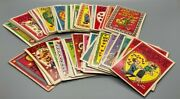 1950's And 1960's Topps Funny Valentine Cards Lot Of 75 Vintage Trading Cards