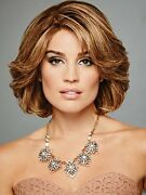Raquel Welch The Art Of Chic Short Layered Comfort Cap Wig Glazed Strawberry ...