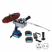 Electric Cable Threading Machine Automatic Plumber Wire Pulling Tool Kit 700n