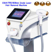 Diode Laser Permanent 1064nm/755nm/808nm Full Body Hair Removal Pigment Machine