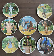Knowles Collector Plates Wizard Of Oz Complete Set Of 8 For 350