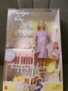 Pregnant Midge And Baby Barbie Happy Family Doll 2002 Mattel Dolls And Accessories