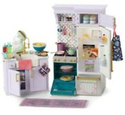New American Girl Kitchen Cafe Bistro Cooking Home Baking Restaurant Treats Box