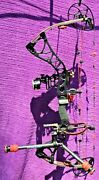 Bowtech Destroyer 350 Le Rh 60-lbs/28 With High-end Accessories Ready To Hunt