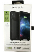 Mophie Juice Pack Access Battery Case For Apple Iphone Xs Max - Black. Usa