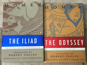 The Illiad And They Odyssey Book Set In Good Condition