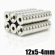 Hole Neodymium Magnet 200 500pcs Super Powerful Strong Permanent Magnetic Disc