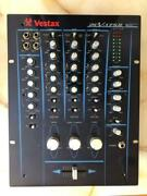 Vestax Rotary Mixer Pcv-175r Without Box Operation Confirmed, Adapter Included
