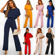 New Women Fashion Jumpsuits Tie Up At The Waist Seven Kinds Of Color For Summer