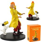 Tintin And Snowy Collectible Model Toy Statues Office Home Decoration