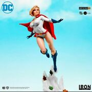 In Stock Iron Studios Dc Comic Power Girl 1/10th Painted Model Action Figure New