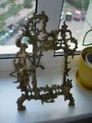 Beautifull Antique Old Frame For A Mirror Photo Bronze France Hand Carved Used
