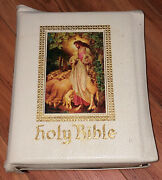 Holy Bible Good Leader Clarifield Edition 1956 King James Version Illustrated