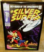 Marvel Poster - 2009 Asgard Press - And039silver Surfer 4 And039 - 20 X 28 Nm