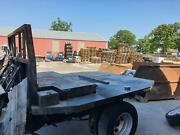 17-19 Ford F350sd Aftermarket Flatbed Without Tail Lamps And Tailgate 8and039 Box