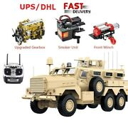 Hg P602 1/12 2.4g 6wd Mrap 25km/h Rc Model Vehicle Car For Cougar Army Military