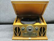 Spirit Of St. Louis Ansonia Turntable Cd Player Am/fm Radio Combo Player