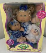 Cabbage Patch Kids Family Portrait Collectible Doll Newborn Puppy Box Set 2007