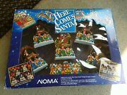 Vintage Noma Here Comes Santa Lights Music And Motion Christmas Holiday Decoration