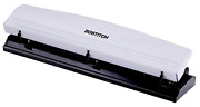 Bostitch 3 Hole Punch, 12 Sheets, White Kt-hp12-white