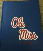 1987 Ole Miss University Of Mississippi College Yearbook Annual Vol.93