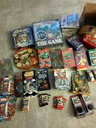 New Unopened Boxed Pog Wpf Star Wars Marvel Disney Animaniacs Lot Collection