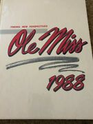 1988 Ole Miss University Of Mississippi College Yearbook Annual Vol.94