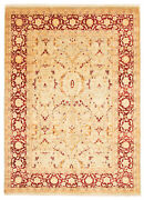 Vintage Hand-knotted Carpet 8and03910 X 12and0390 Traditional Light Blue Wool Area Rug