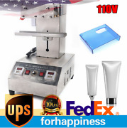 Pneumatic Tube Sealing Machine Stainless Steel For Food Medicine Cosmetics 110v