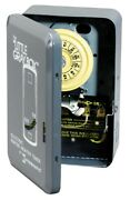 Intermatic Wh40 Electric Water Heater Timer, 250 Volts, Gray