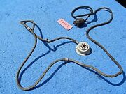 Wurlitzer 1100 Coin Mechanism Cable, Socket And Plug Assembly 50182