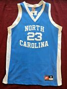 Authentic Signed And039nike Team Sportsand039 Unc Tar Heels Jersey Michael Jordan 23 A+
