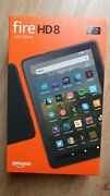 New Black Kindle Fire Hd 8 Tablet 32gb With Alexa 10th Gen.2020
