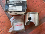 Yamaha Yz490 Wr500 Wiseco Piston And Rings Std 87.00mm 546ps N.o.s