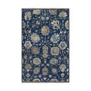 Surya Tho3007-23 Theodora Area Rug Navy/taupe/light Gray/teal/ivory/butter