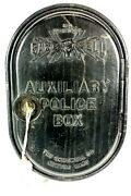 Antique Gamewell Auxiliary Police Call Box - South Bend Bank W/ Key Works
