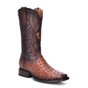 Rodeo Full Quill Ostrich Western Boots Made By Cuadra Boots