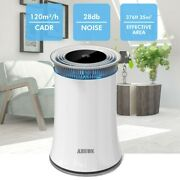 High Cadr Air Purifier Up To 376ft2 Quiet Ozone-free Large Room True Hepa Filter